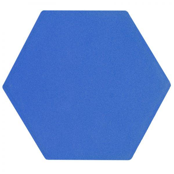 Hexagon Medium Matte Blue-Edit